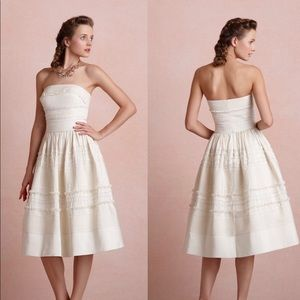NWT | Anthropologie | BHLDN Fondant Tea Dress